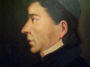 History of Nuevo León - Portrait of FriarServando Teresa de Mier in 1820.