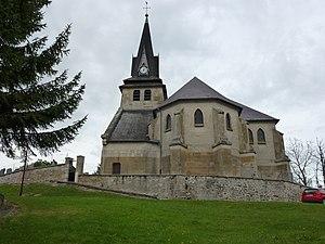Seuil - Image: Seuil (Ardennes) église Sainte Anne, chevet