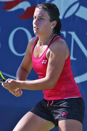 Anastasija Sevastova - Sevastova at the 2016 US Open
