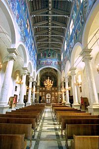 Piana degli Albanesi Cathedral of the Albanians of Insular Italy ShenMitri.jpg