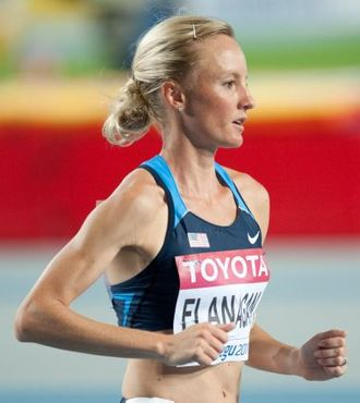 Shalane Flanagan - Flanagan during the 2011 World Championships in Athletics