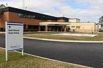 Shands Starke Regional Medical Center Emergency entrance, helipad.jpg