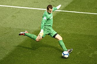 Shay Given - Given playing for Manchester City