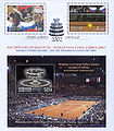 Sheet of Russia stamp nos. 829-831 - 2002 Davis Cup.jpg