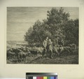 Shepherd and girl with flock of sheep (NYPL Hades-575121-1227169).tiff