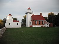 Sherwood Point Lighthouse Sept 2010.JPG