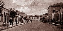 The center of Shijak in 1927.