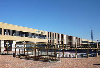 Shin-Takaoka Station Railway station in Takaoka, Toyama Prefecture, Japan