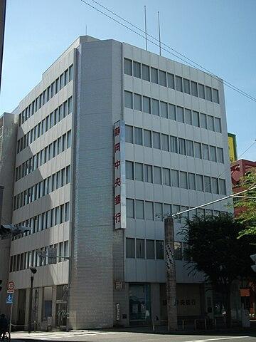 静岡中央銀行の本店