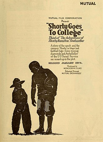 The Adventures of Shorty - Shorty Goes to College (1917)
