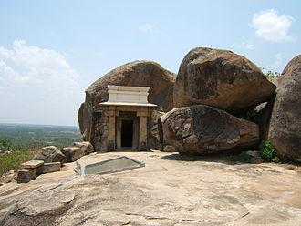 Ancestry of Chandragupta Maurya - Cave in Karnataka said to be the death place of Chandragupta