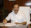 Shri D.V. Sadananda Gowda taking charge as the Union Minister for Railways, in New Delhi on May 27, 2014 (cropped).jpg
