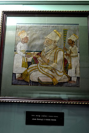 Battle of Bhuchar Mori - Jam Sataji