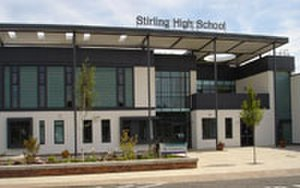 Stirling High School - The new school building