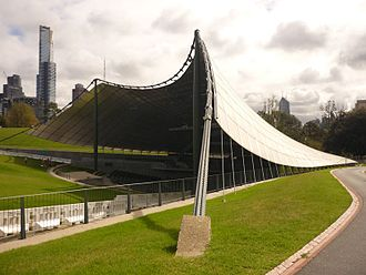 Yuncken Freeman - Sidney Myer Music Bowl