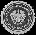 Siegelmarke Der K. Landrath des Kreises Westprignitz W0358419.jpg