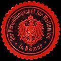 Siegelmarke Der Verwaltungschef für Wallonien in Namur W0239432.jpg