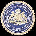 Siegelmarke Fürstlich Reuss Pl. J. L. Bezirkssteuereinnahme - Schleiz W0234785.jpg