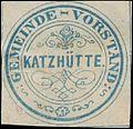 Siegelmarke Gemeinde-Vorstand Katzhütte W0392619.jpg