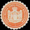 Siegelmarke Gr. Meckl. Strel. Staats-Ministerium W0355658.jpg