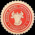 Siegelmarke Grossherzoglich Mecklenburgische Amtsanwalt - Sternberg W0214991.jpg