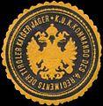 Siegelmarke K.u.K. Kommando des 4. Regiments der Tiroler Kaiser-Jäger W0338580.jpg