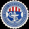 Siegelmarke Siegel der Gemeinde Bad Warmbrunn W0312929.jpg