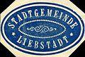 Siegelmarke Stadtgemeinde - Liebstadt W0215933.jpg