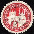 Siegelmarke Verwaltung der Kreishauptstadt - Speyer W0232445.jpg