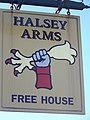 Sign for the Halsey Arms - geograph.org.uk - 1092149.jpg