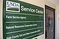 Sign in the USDA Service Center in Hale County. (25090841776).jpg