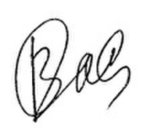 Olga Vasilieva (politician) - Image: Signature of Olga Vasilyeva