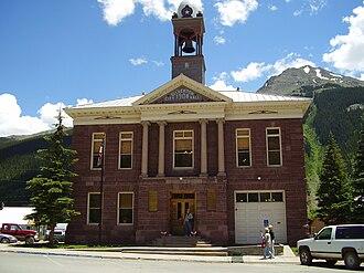 Silverton, Colorado - Image: Silverton CO City Hall