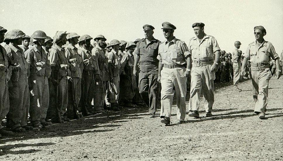 Simchoni Dayan Yafe IDF Lineup