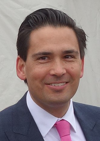 Leader of the Opposition (New Zealand) - Image: Simon Bridges Free Crop