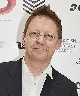 Simon Mayo British radio presenter