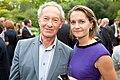Simon Schama, Historian and Caroline Daniel, editor, FT Weekend (5879957085).jpg
