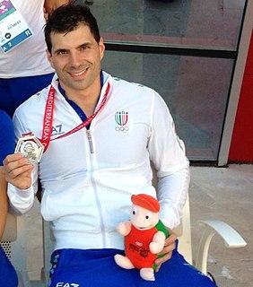 Simone Ciulli Italian swimmer