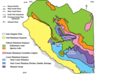 geological map of Himachal Pradesh
