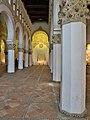 Sinagoga de Santa María la Blanca (Toledo). Nave central.jpg