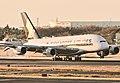 Singapore Airlines A380-841 (9V-SKJ) at Narita International Airport in 2010.jpg