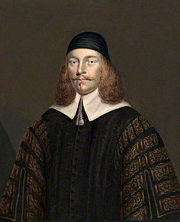 Thomas Widdrington Chief Baron of the Exchequer
