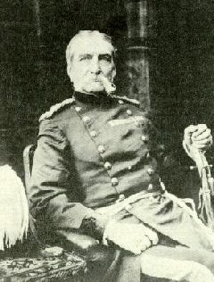 Andrew Clarke (British Army officer) - Image: Sir Andrew Clarke (1873) by G R Lambert