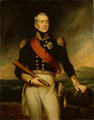 Cockburn (surname) - Admiral Sir George Cockburn, 10th Baronet Cockburn of Langton