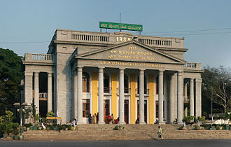 Bangalore Town Hall - The Town Hall, in 2010