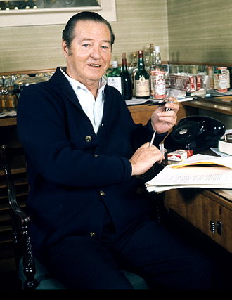 Sonning - The playwright Sir Terence Rattigan, who lived at The Red House in Sonning, 1945–47.
