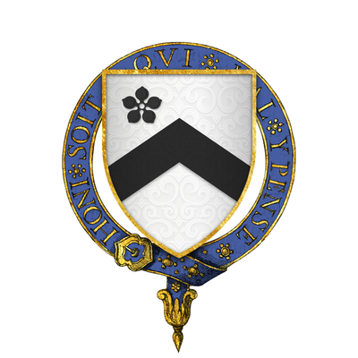 Arms of Sir Thomas Rempston, KG Sir Thomas Rempston, KG.png