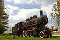 Sisak, stará lokomotiva na nádraží.jpg