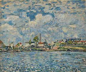 The Seine at the Point du jour