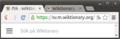 Skärmdump Chromium Ubuntu flikar.png